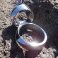 存在感のあるタンタル素材のペアリング Tantalum Rings