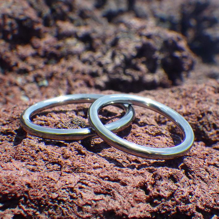 究極にミニマルがかっこいい!タンタルのセミオーダーリング Tantalum Rings