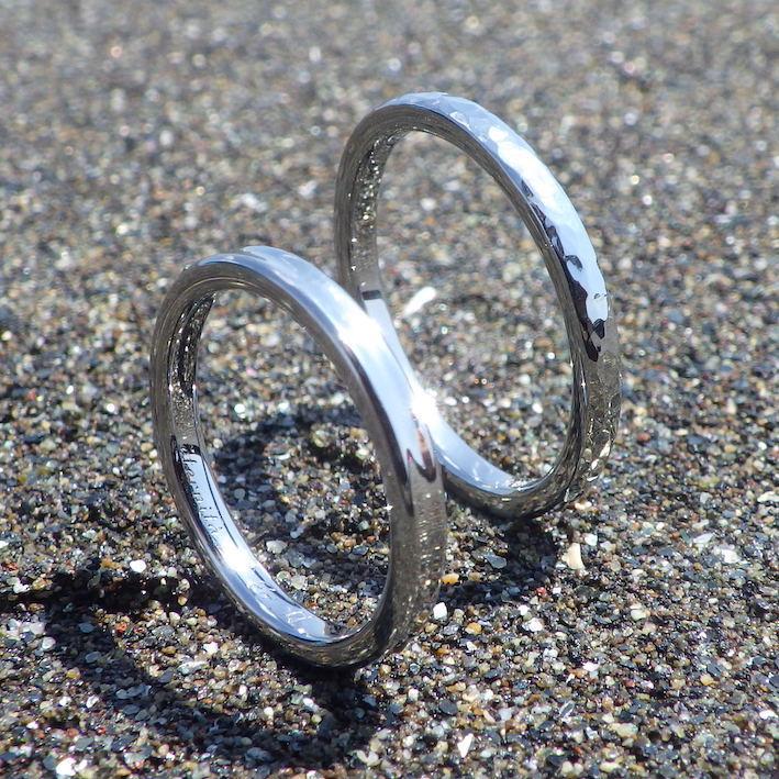 人間にもっとも優しい金属素材・ハフニウムの結婚指輪 Hafnium Rings