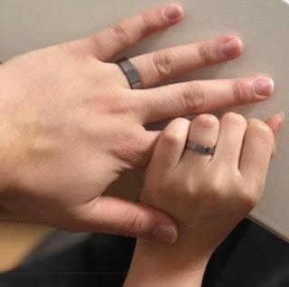 タンタルの指輪をご注文のお客様