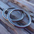 幸せなかたち タンタルとハフニウムのペアリング Tantalum Ring & Hafnium Ring