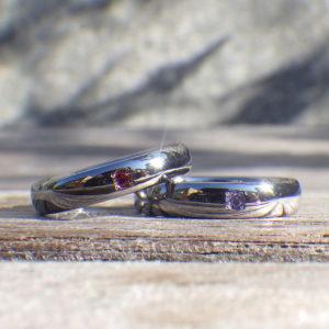 ジャストフィットの心地よさ!タンタルのオーダーメイドリング Tantalum Rings