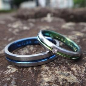センターラインのジルコウムの指輪
